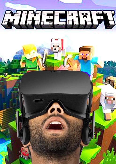 Minecraft во Владивостоке в виртуальной реальности